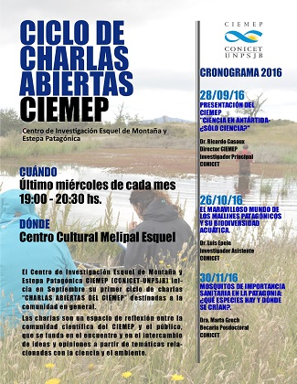 Folleto charlas Esquel web